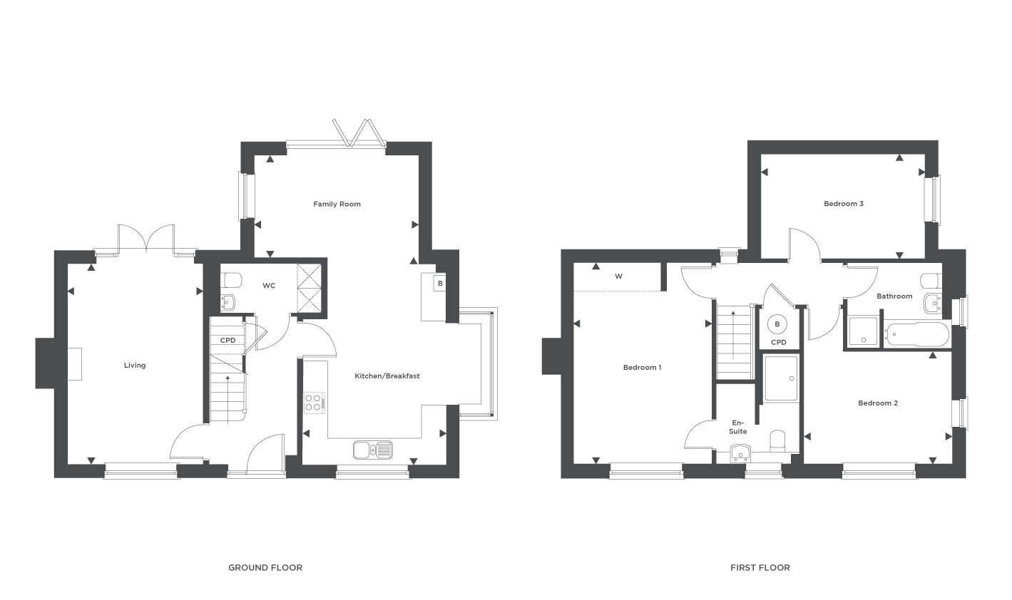 Plot 5 Floor plan