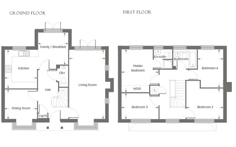 Plot 13 – The Amberley Floor plan