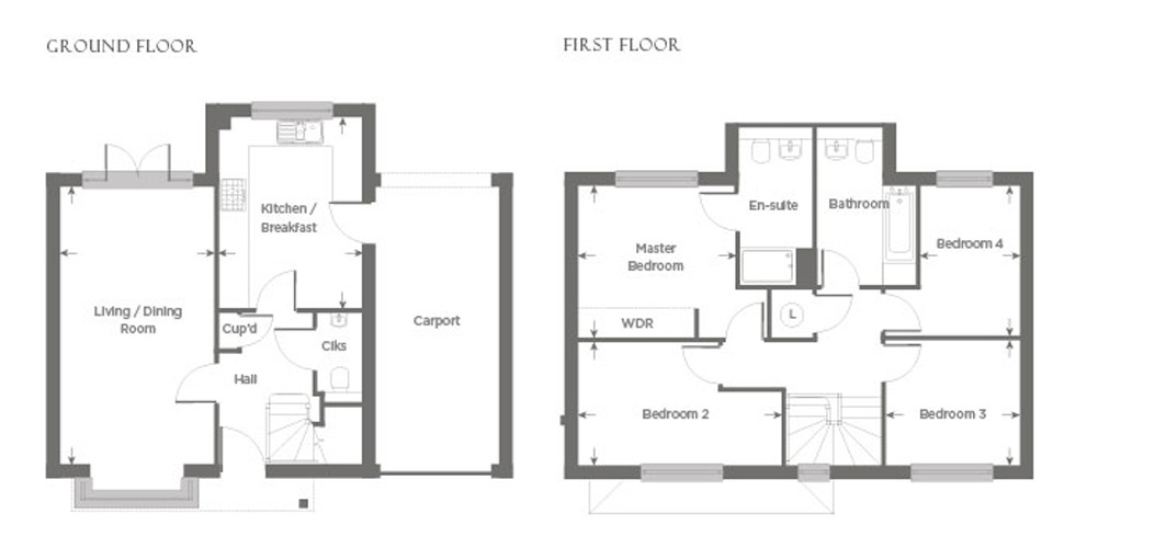 Plot 19 – The Ashling Floor plan