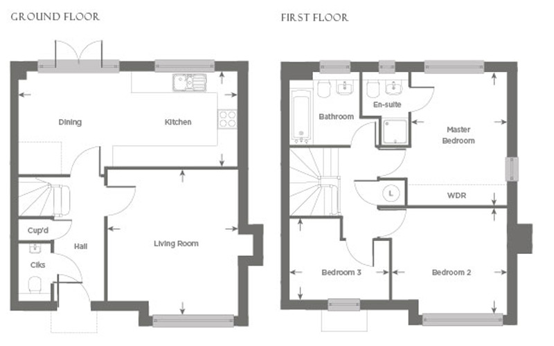 Plot 24 – The Bosham Floor plan