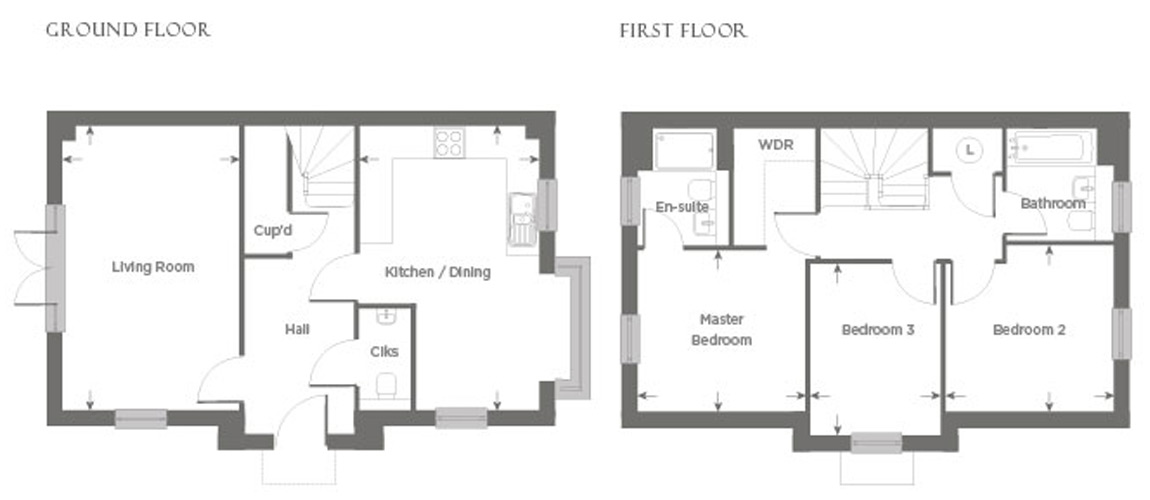 Plot 3 – The Bramber Floor plan