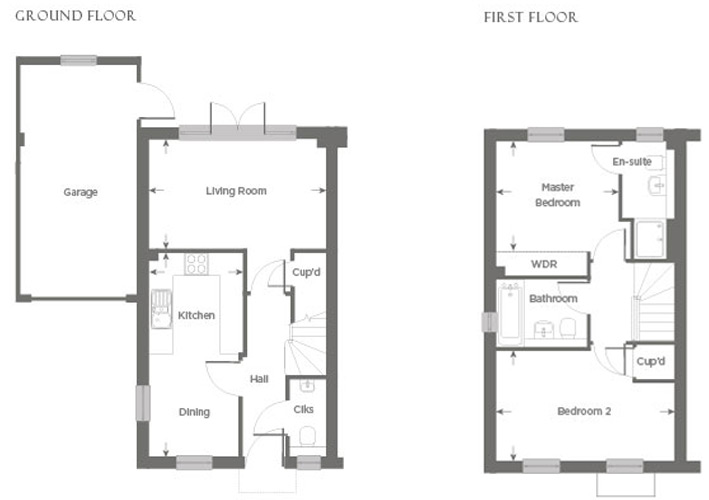 Plot 23 – The Walderton Floor plan