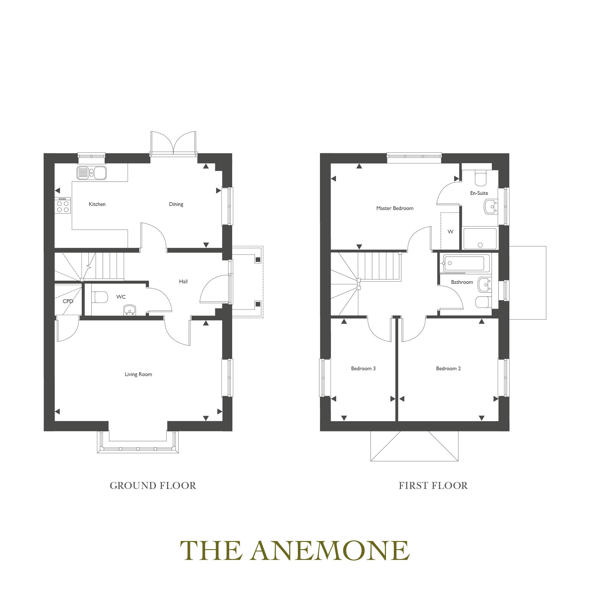 Plot 26 – The Anemone Floor plan