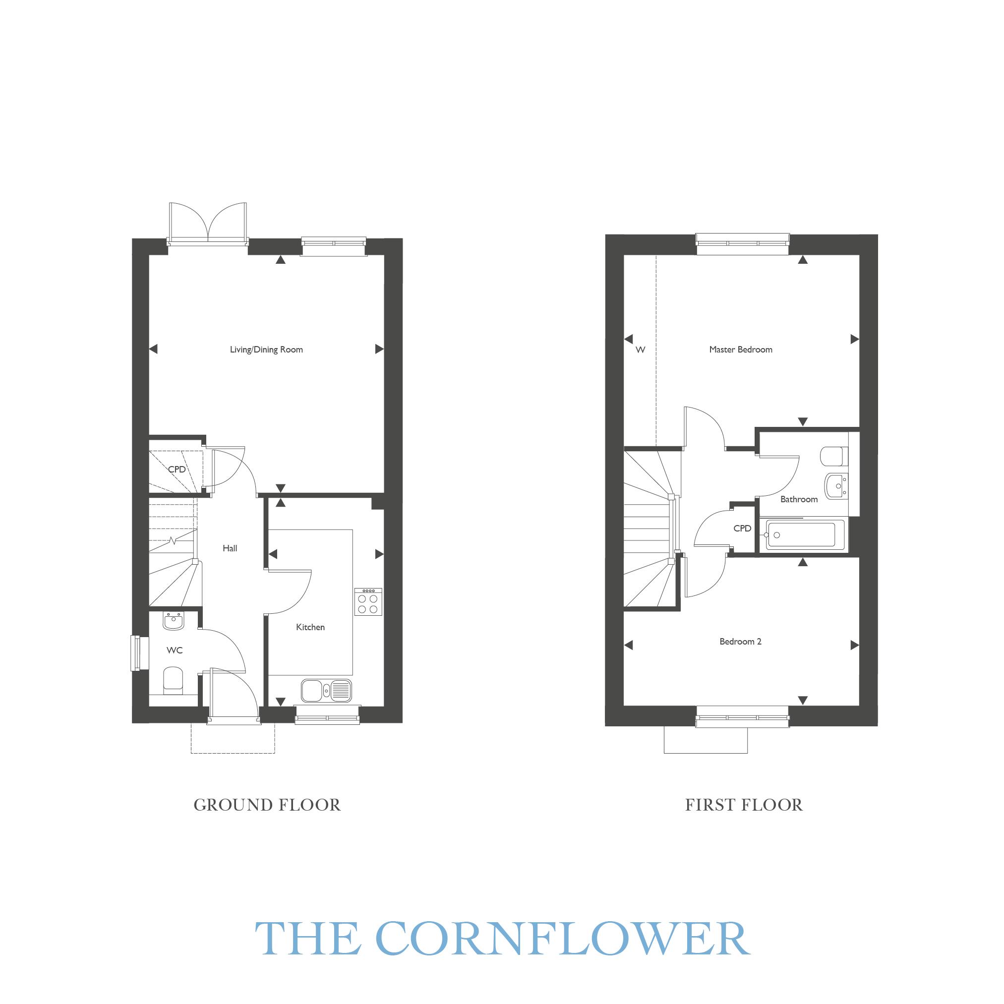 Plot 27 – The Cornflower Floor plan