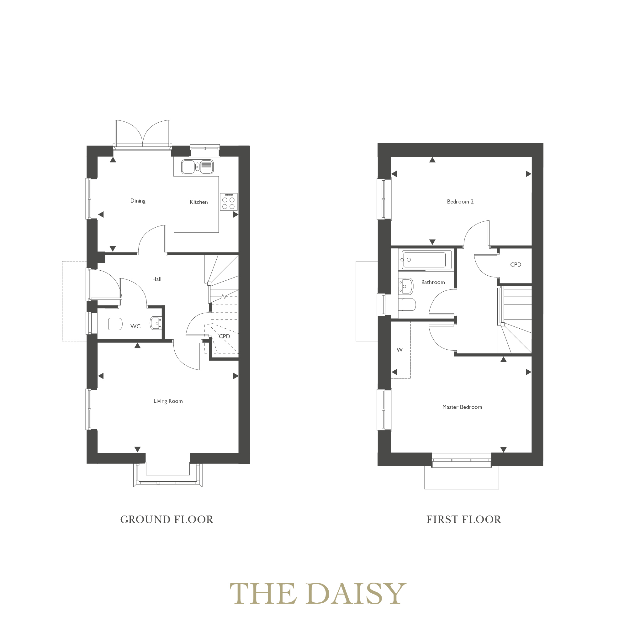 Plot 12 – The Daisy Floor plan