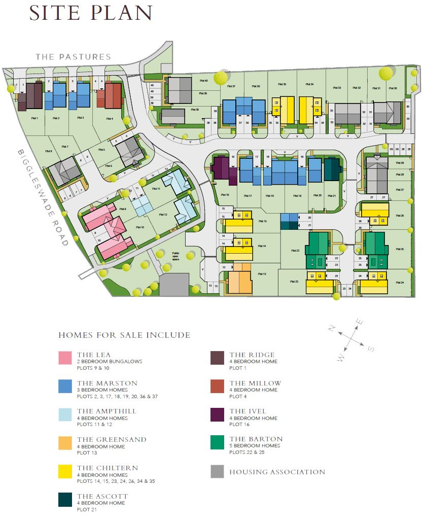 The Ridings Siteplan