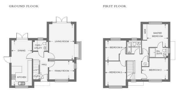 Plot 11 – The Ampthill Floor plan