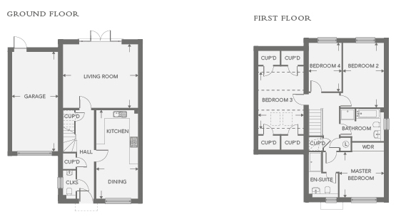 Plot 35 – The Chiltern Floor plan
