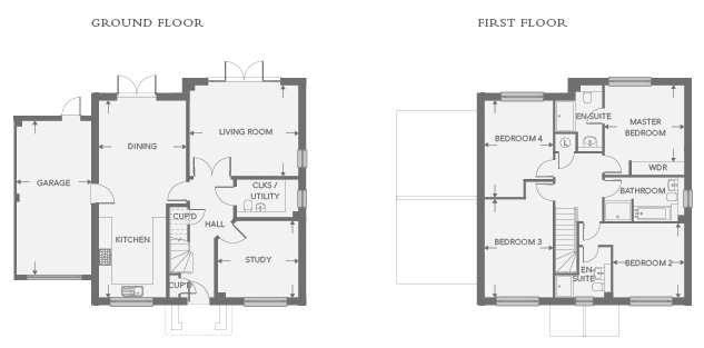 Plot 13 – The Greensand Floor plan