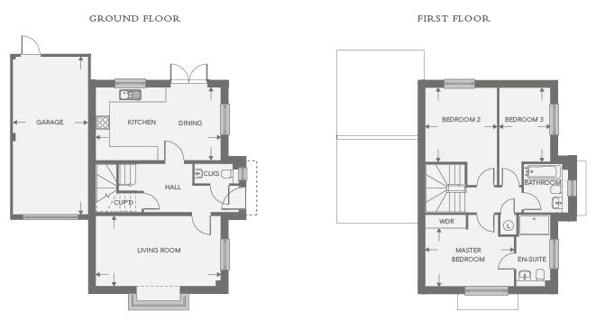 Plot 16 – The Ivel Floor plan