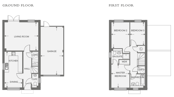 Plot 3 – The Marston Floor plan
