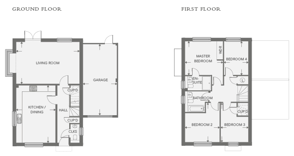 Plot 4 – The Millow Floor plan