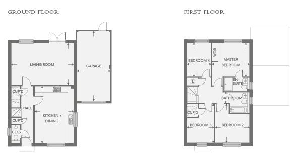 Plot 1 – The Ridge Floor plan