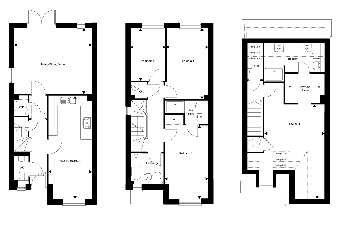 Plot 17 – The Hartfield Floor plan