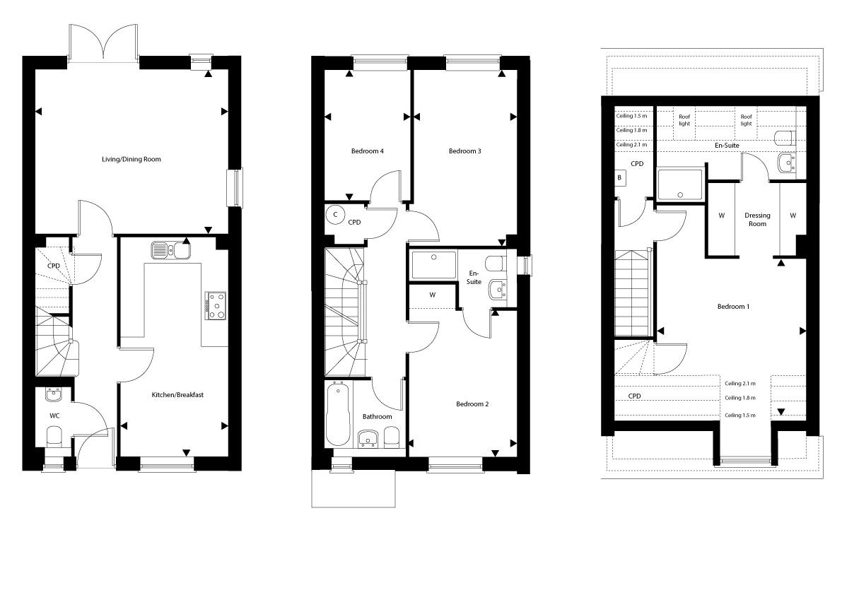 Plot 37 – The Hartfield Floor plan