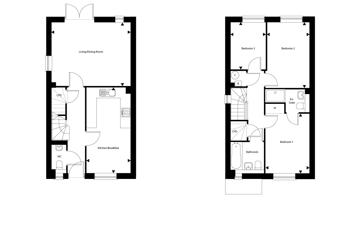 Plot 126 The Netherfield Floor plan