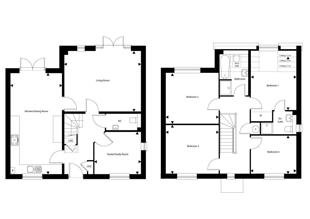 Plot 28 – The Salisbury Floor plan