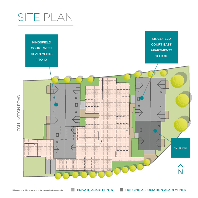 Kingsfield Court Siteplan