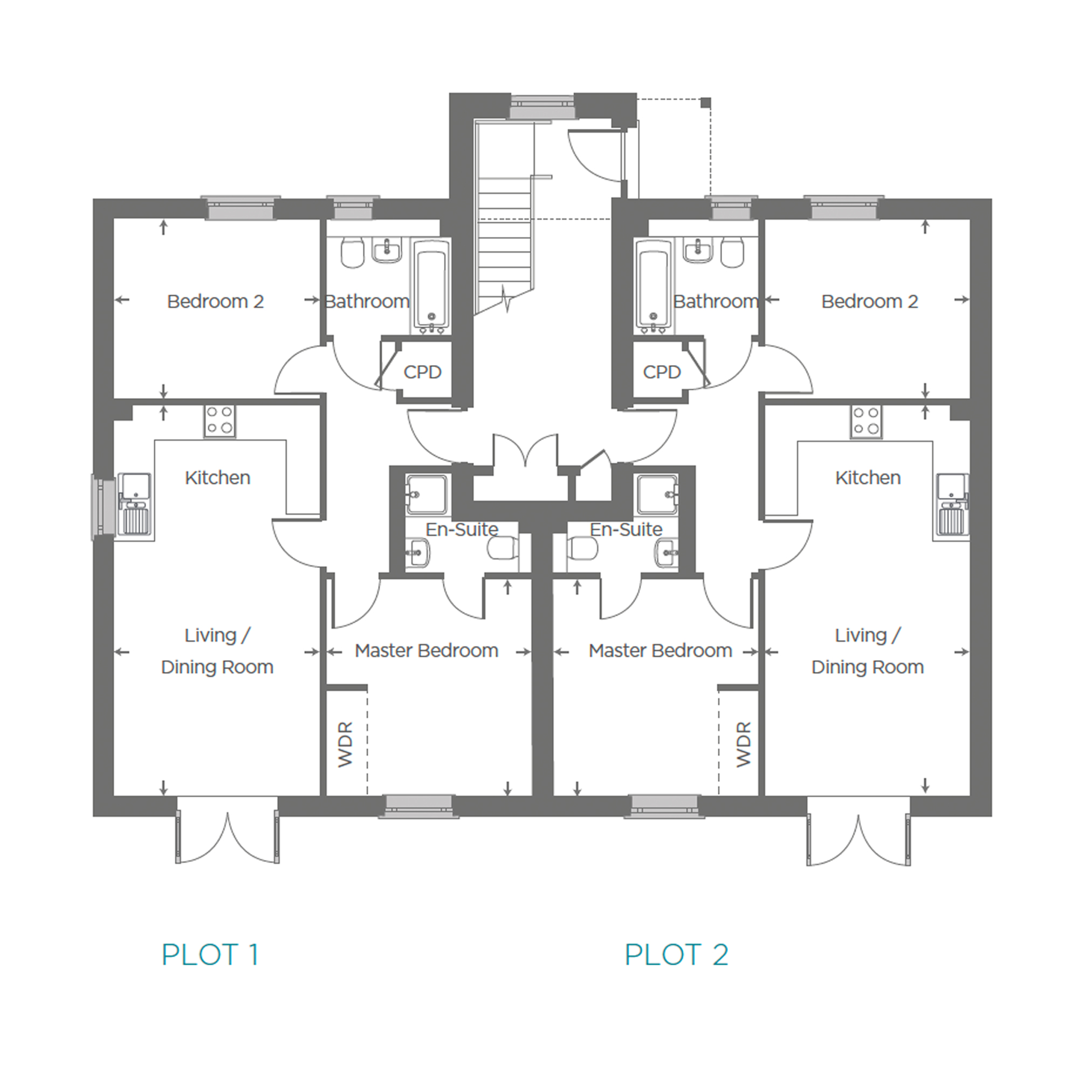 FORTNIGHTLY HARD HAT TOURS AT KINGSFIELD COURT, AYLESBURY Floor plan