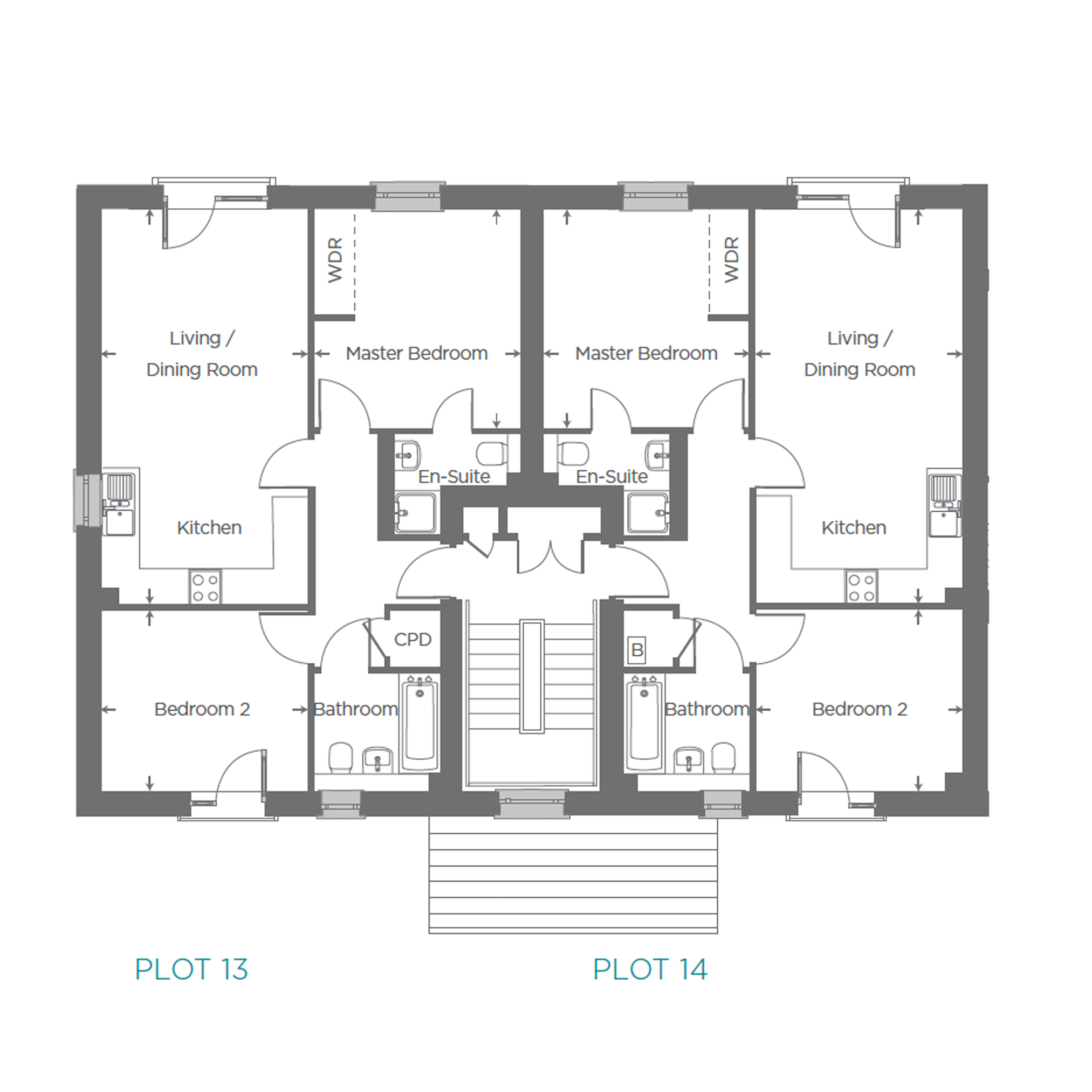 Plot 14 Floor plan