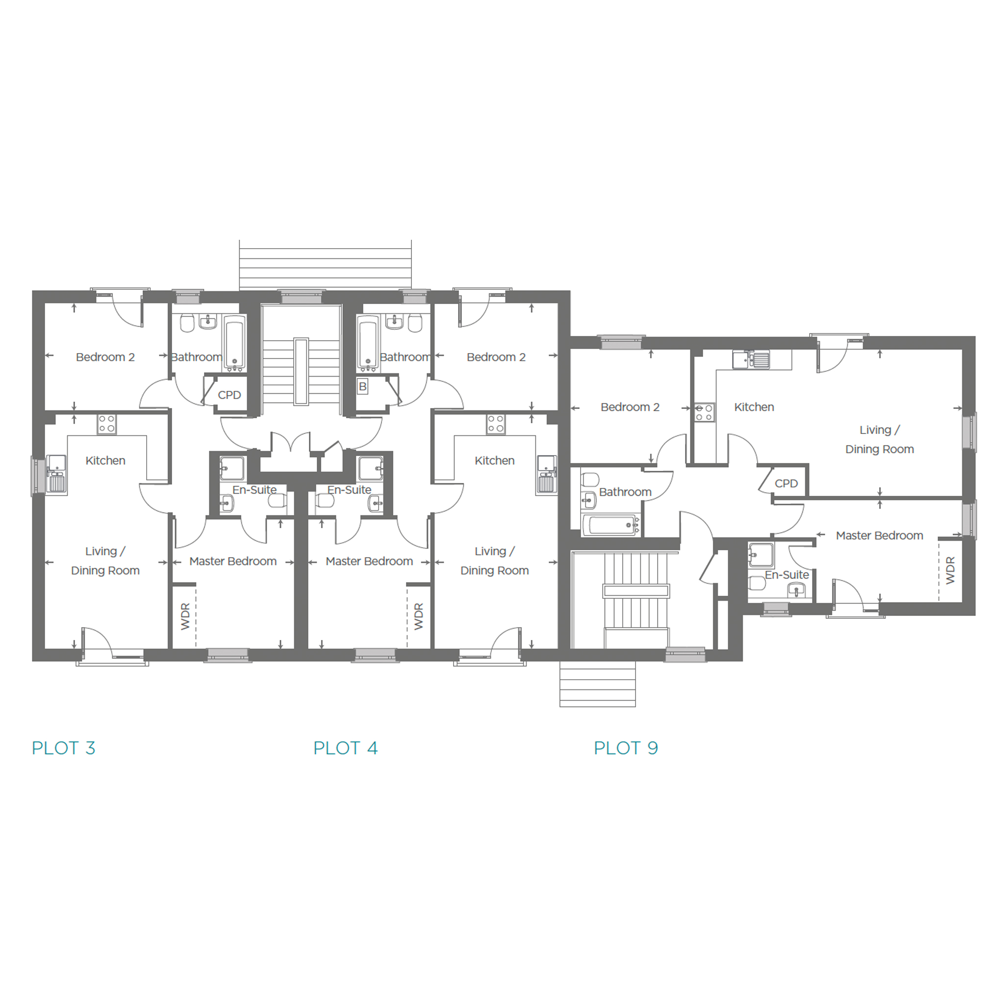 Plot 4 Floor plan
