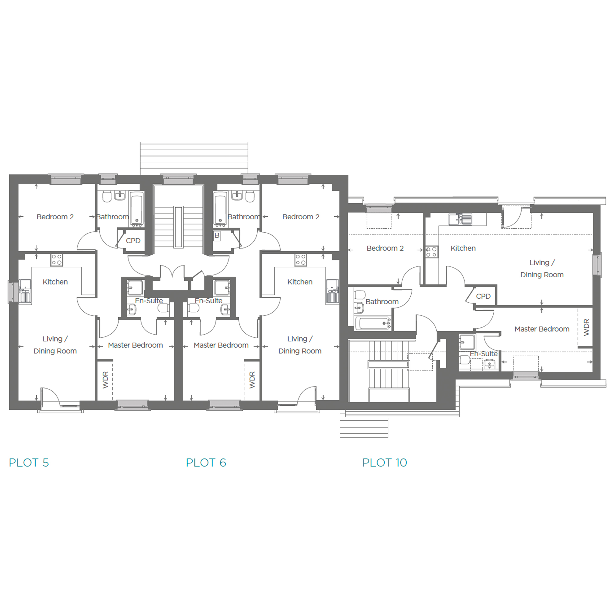 Plot 6 Floor plan