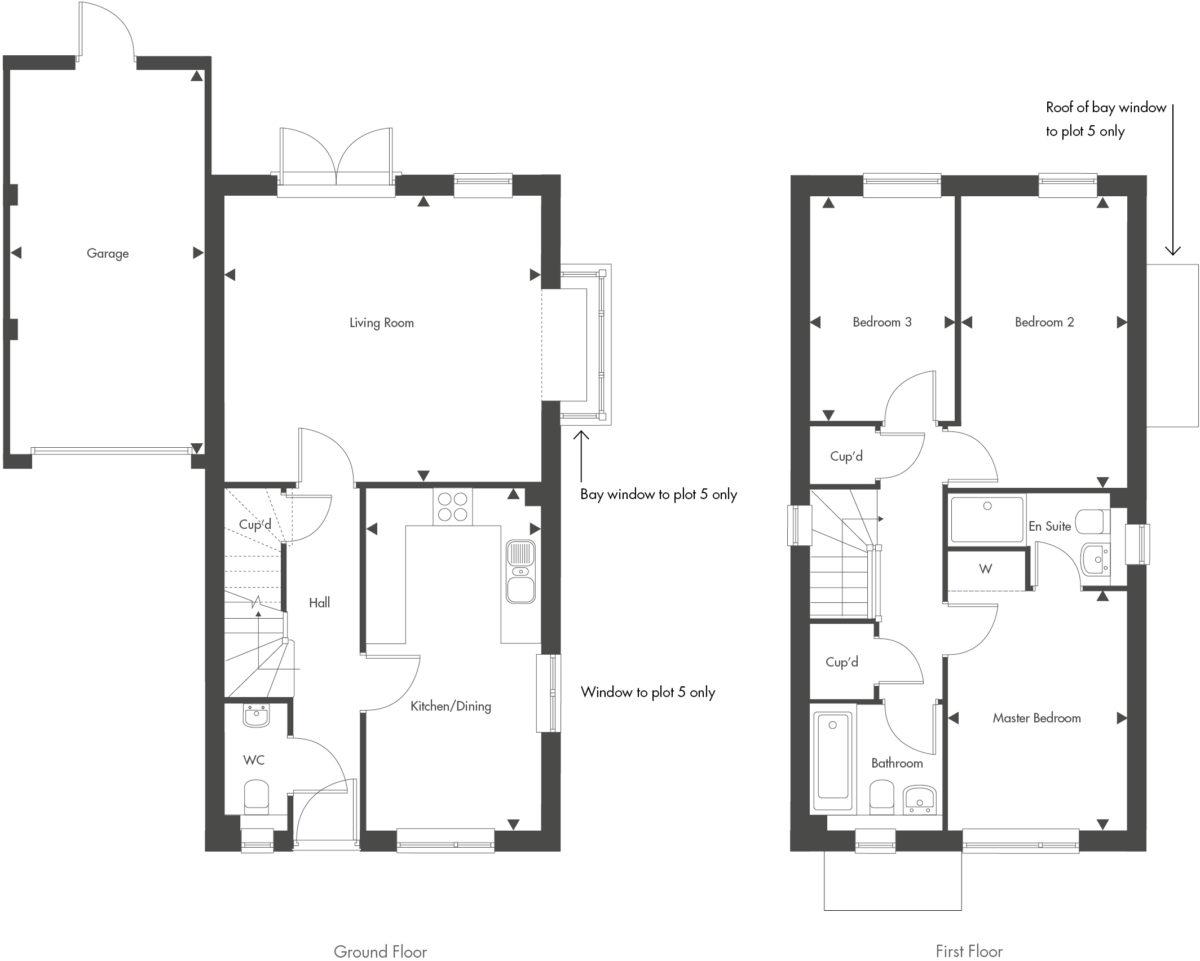 Plot 5 – The Eden Floor plan