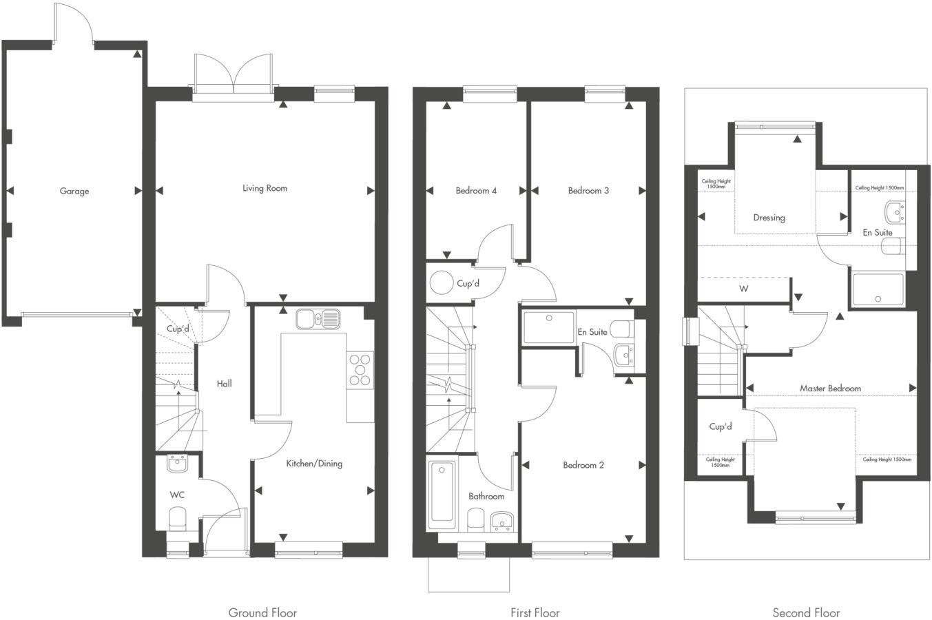 Plot 29 – The Lawrence Floor plan