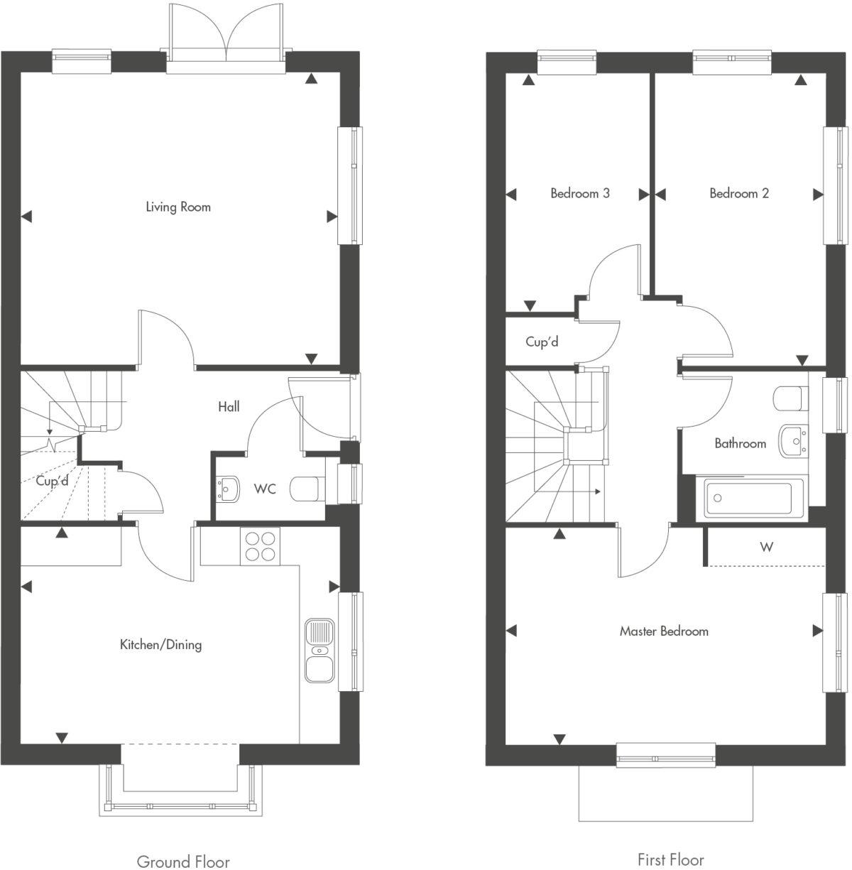 Plot 31 – The Redwood Floor plan