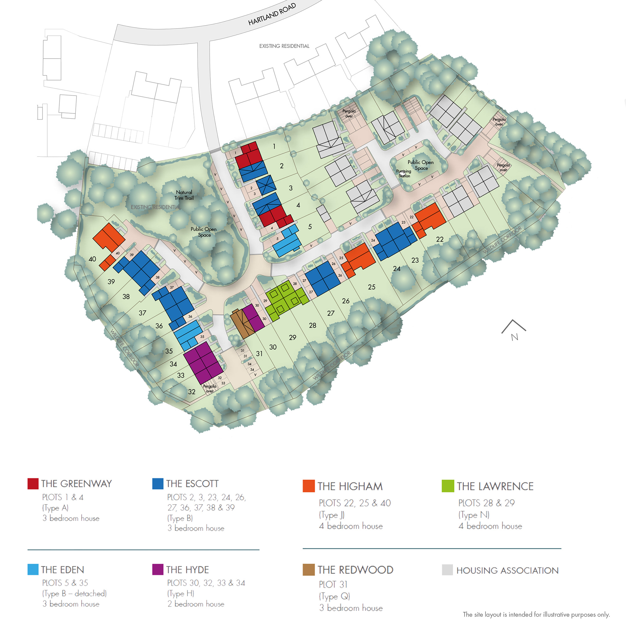 Plot 37 – The Escott Siteplan
