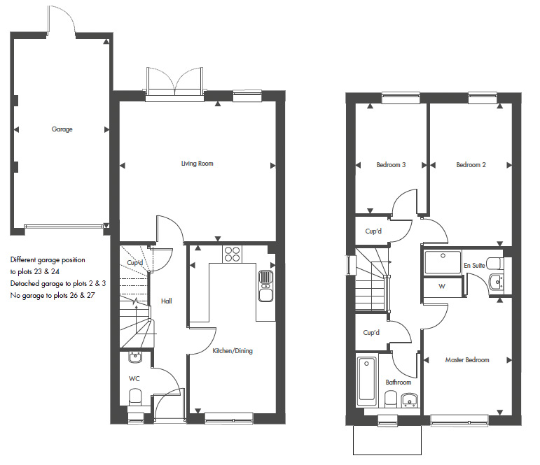 Plot 27 – The Escott Floor plan