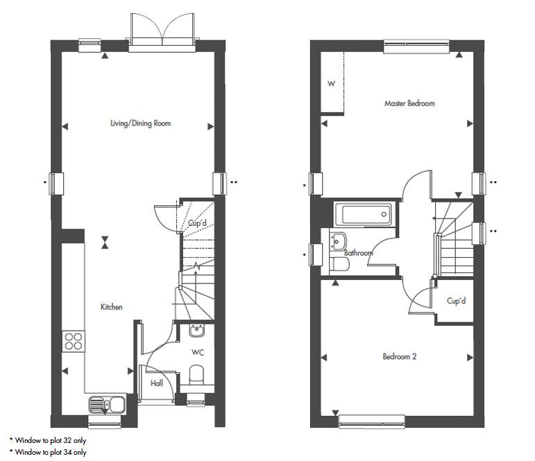 Plot 33 – The Hyde Floor plan
