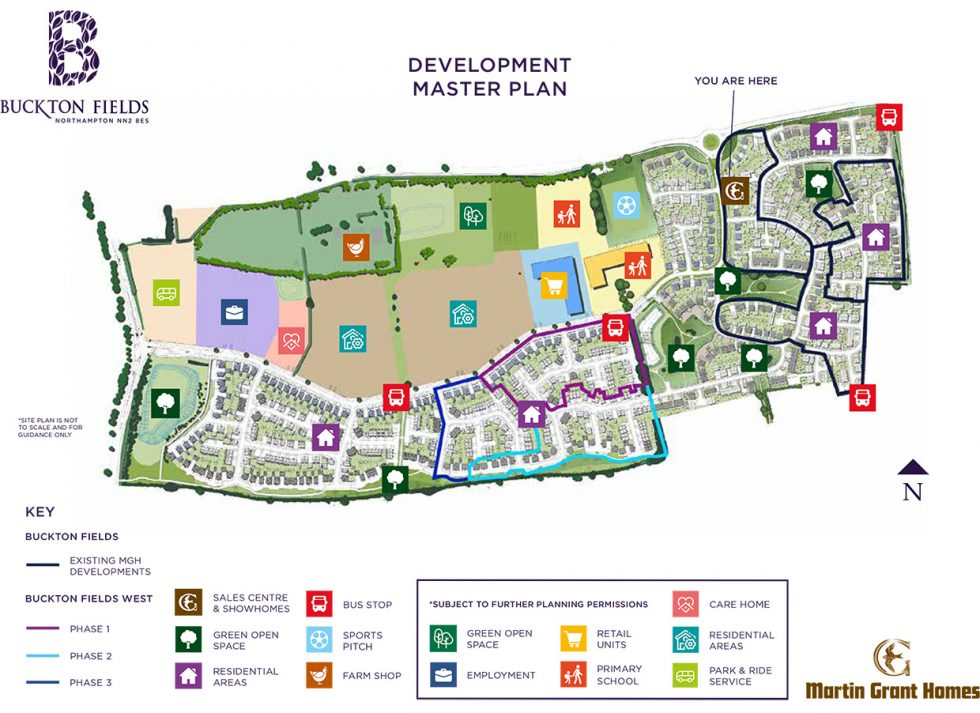 Buckton Fields Siteplan