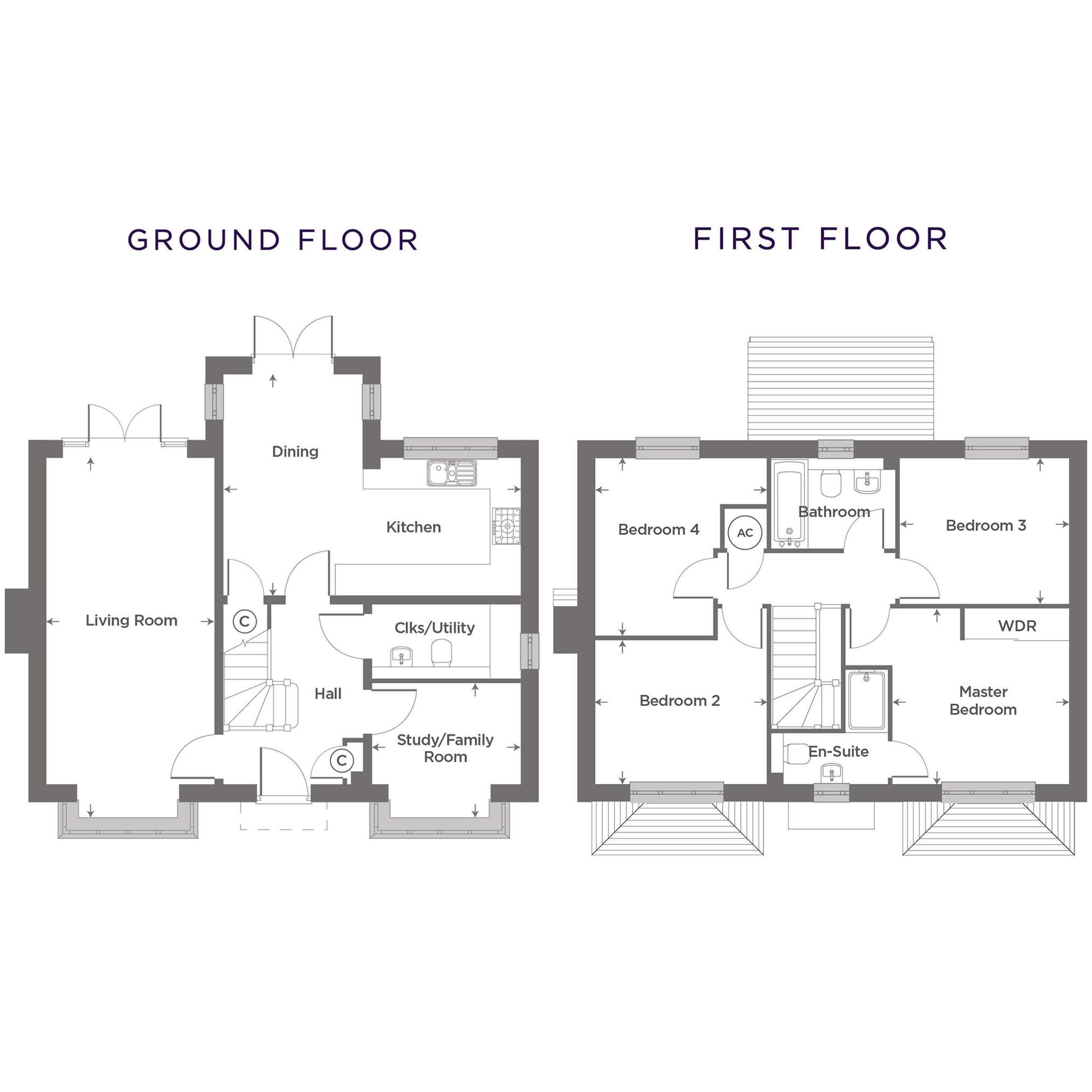 Plot 2  – The Banbury Floor plan
