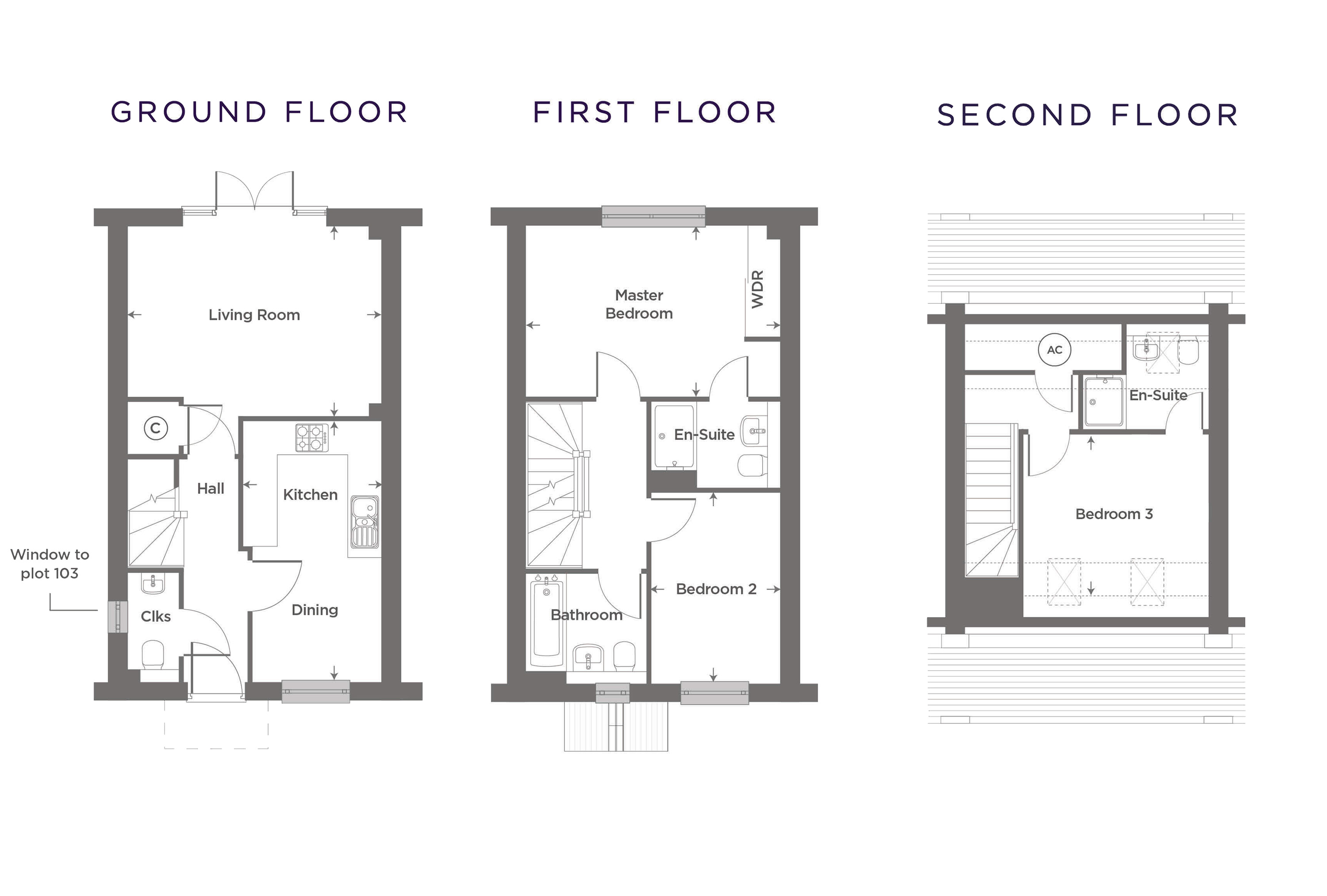 Plot 8 – The Barton Floor plan
