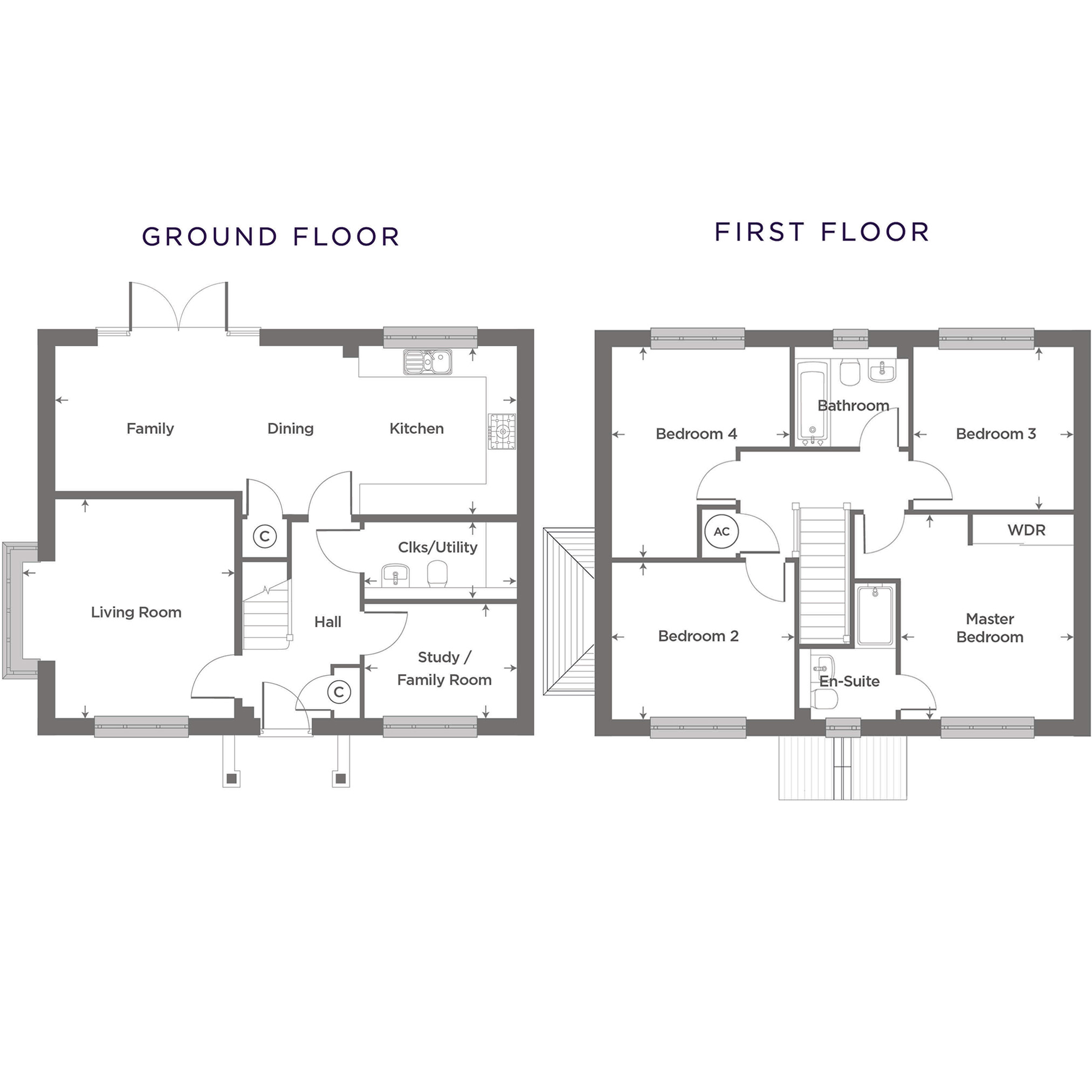 Plot 18 – The Boughton Floor plan