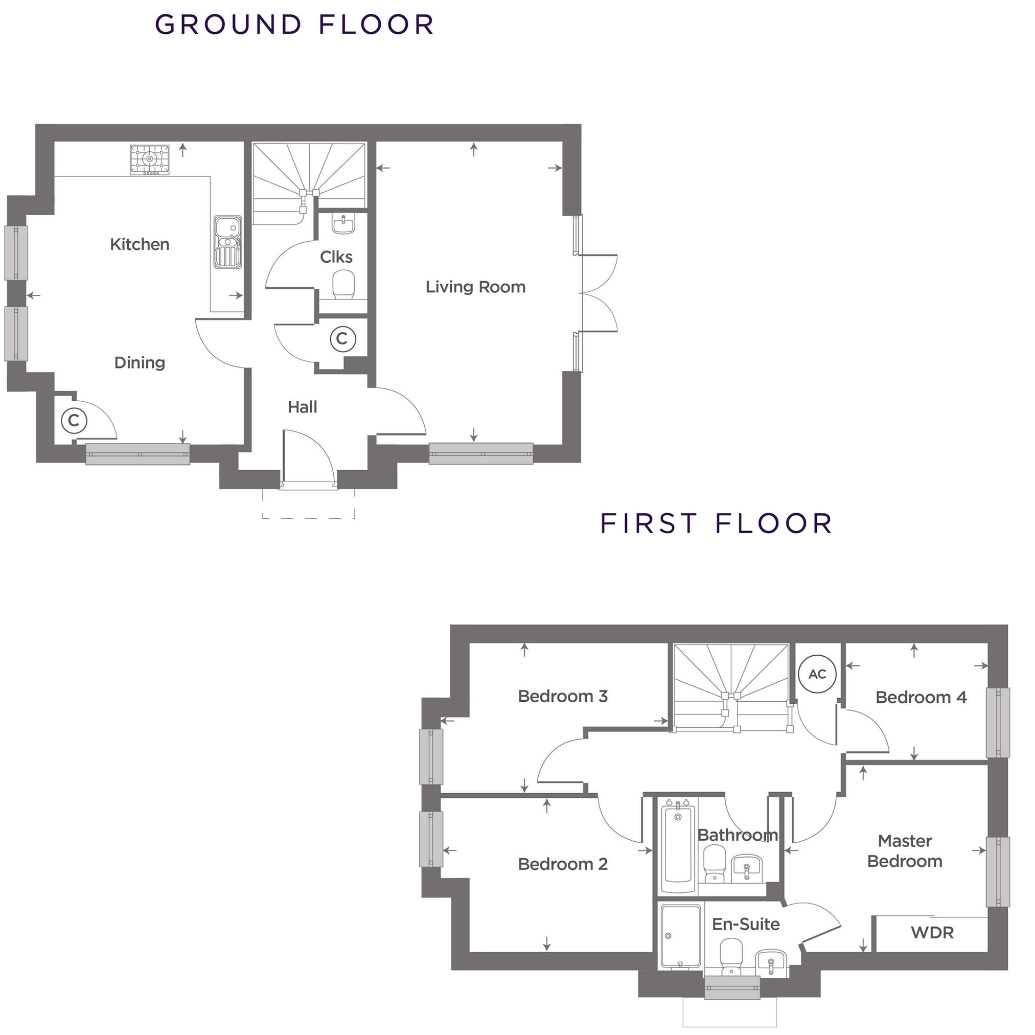 Plot 21 – The Cosgrove Floor plan