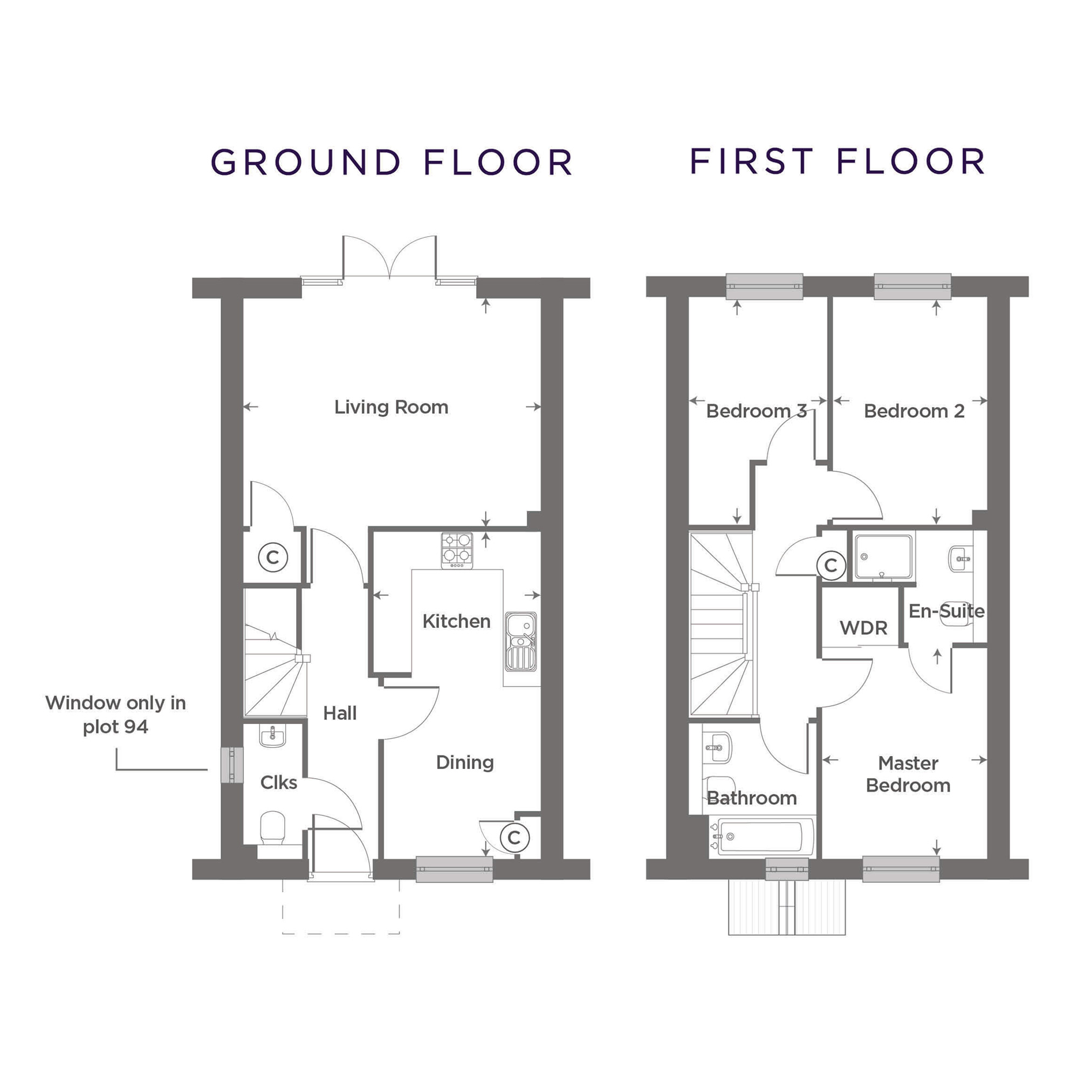 Plot 92 – The Harlestone Floor plan
