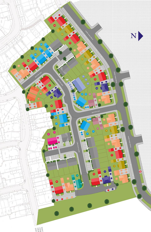 Plot 1 – The Moulton Siteplan