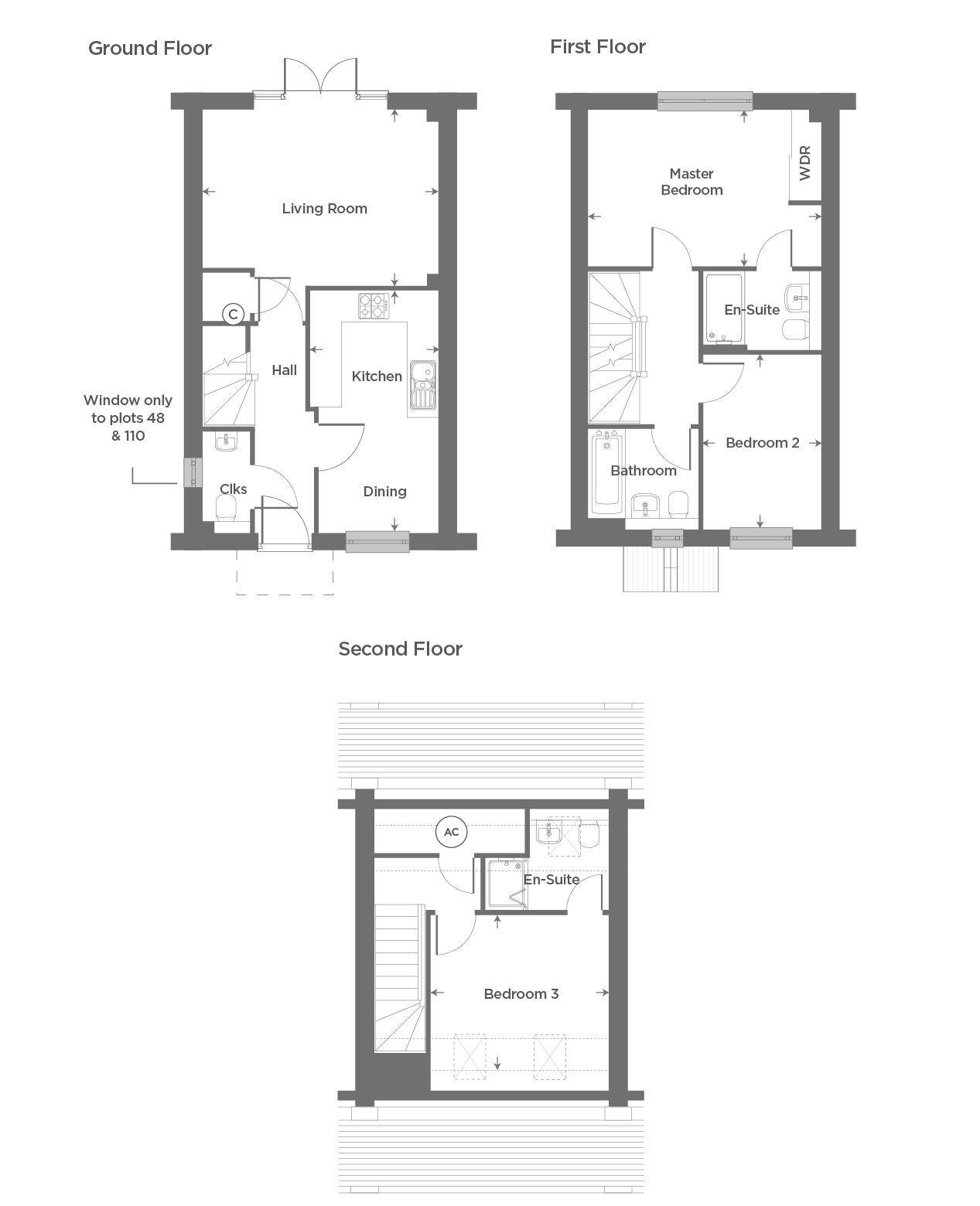 Plot 103 – The Barton Floor plan