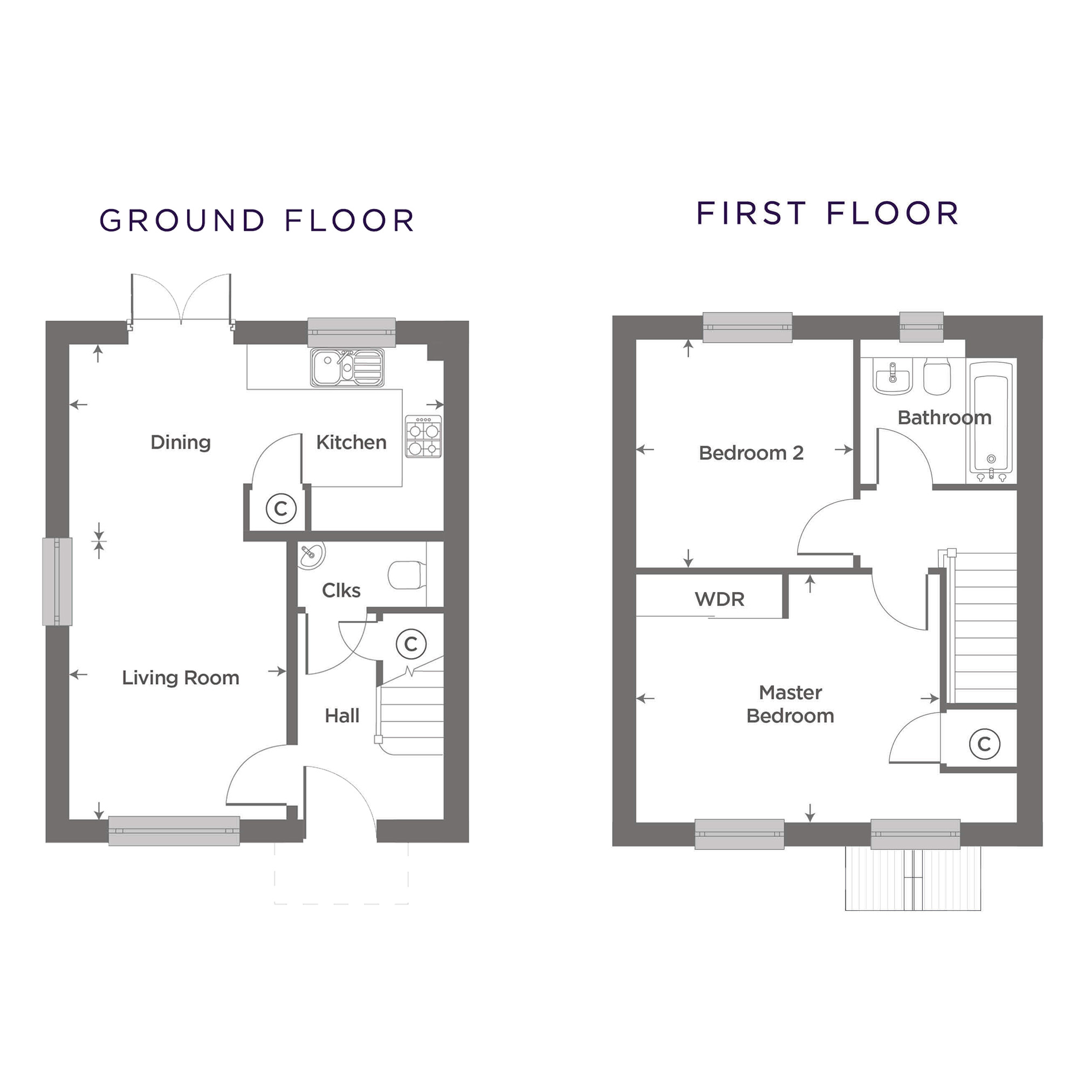 Plot 29 – The Wollaston Floor plan