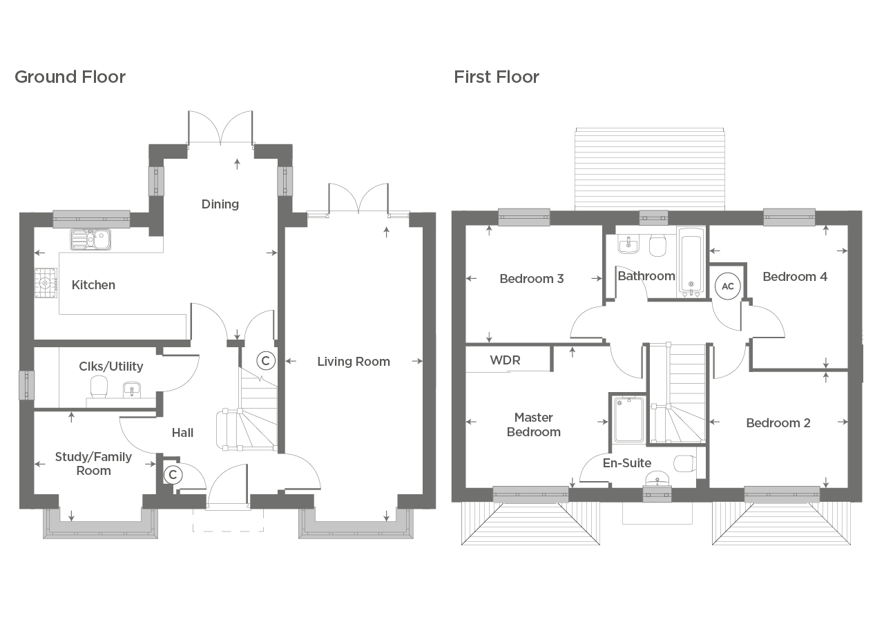 Plot 45 – The Banbury Floor plan