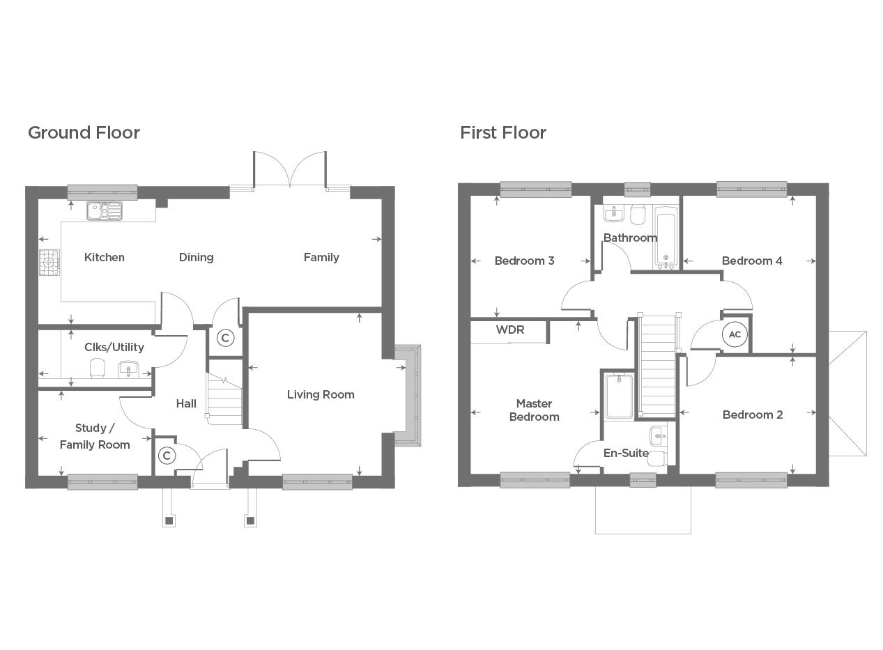 Plot 68 – The Boughton Floor plan