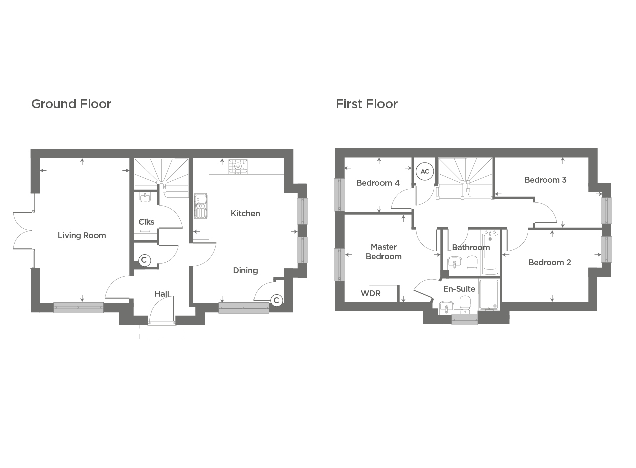 Plot 82 – The Cosgrove Floor plan