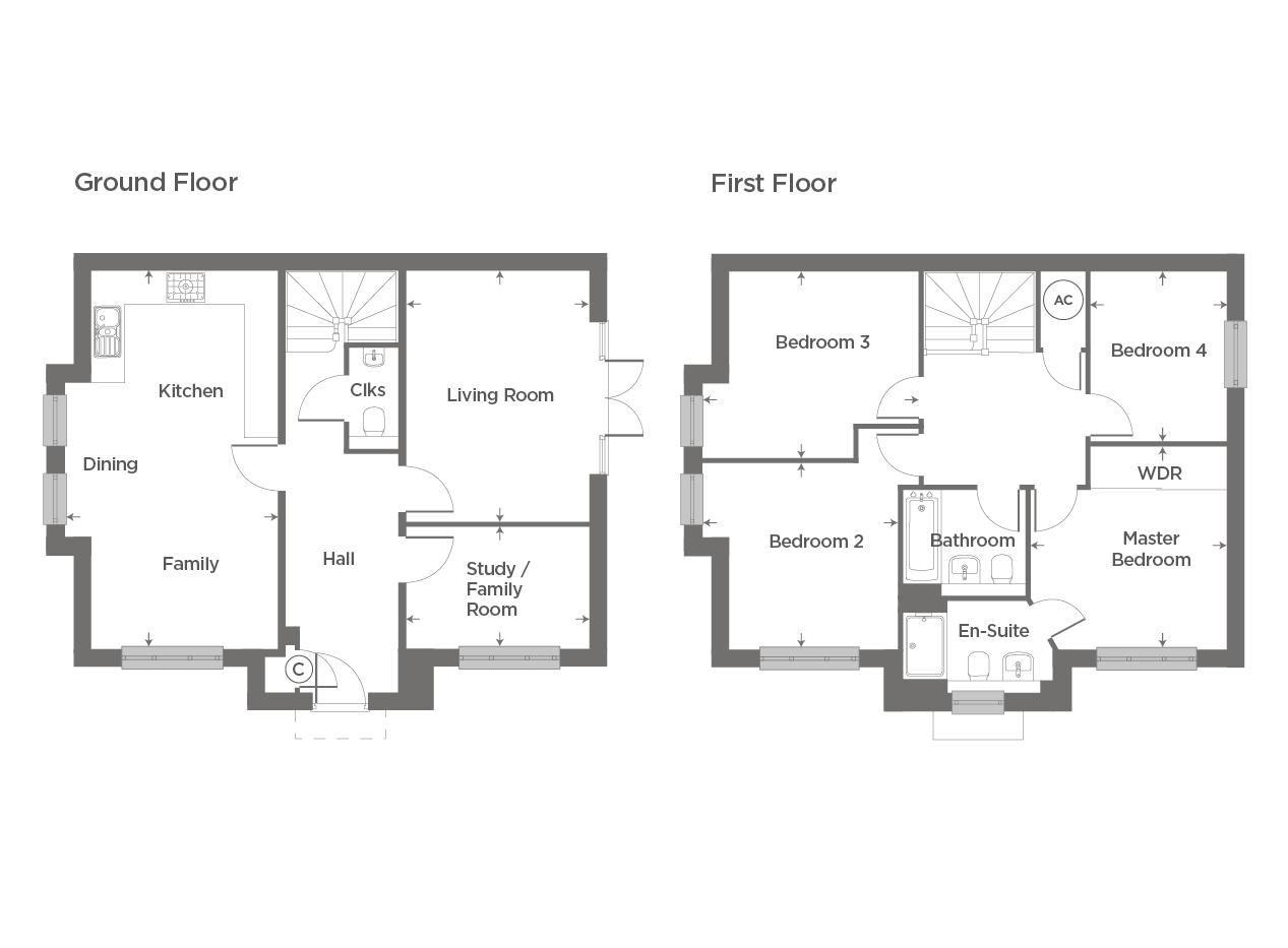 Plot 84 – The Finedon Floor plan