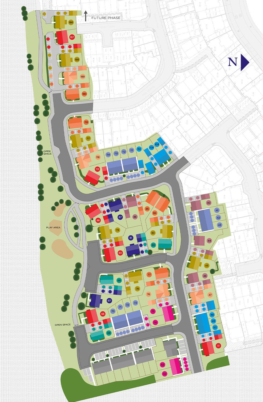 Plot 45 – The Banbury Siteplan